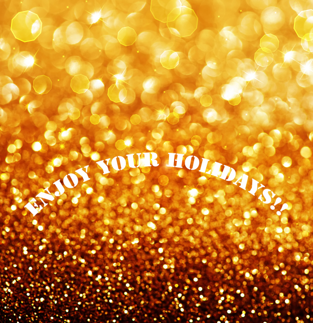 Gold Festive Background. Abstract Golden Christmas and New Year
